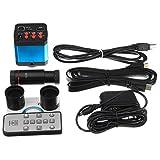 RISHIL WORLD 14MP HDMI HD 1080P Digitale Microscope Magnifier Industria Camera USB Stereo Adattatore