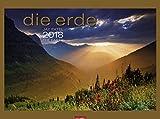 Die Erde - Kalender 2018 - Weingarten-Verlag - Jay Patel - Wandkalender mit edlem Bronzedruck - 78 cm x 58 cm
