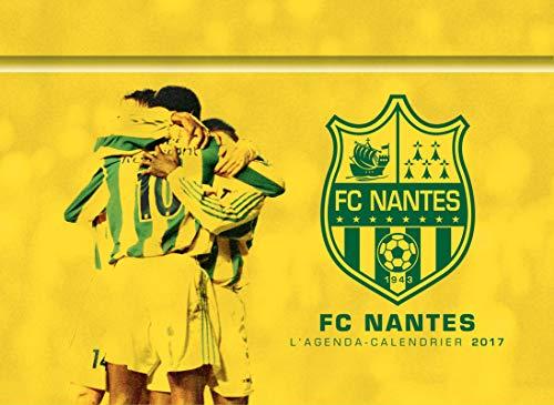 L'agenda-calendrier FC Nantes 2017 por Collectif