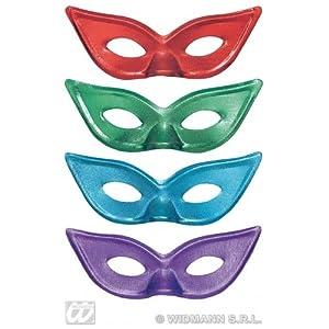 widmann-wdm6452X disfraz Adulto mujer, Rojo Verde Azul Violeta, wdm6452X