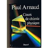 Cours de chimie physique