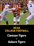 College Football, Clemson Tigers - Auburn Tigers, Week 2