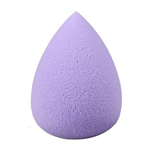 FEITONG Femmes 1PC Gouttelettes d'eau douce beauté pratique maquillage éponge (Violet)
