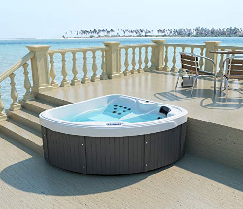 Home Deluxe – Outdoor Whirlpool – Daydream – Maße: 170 x 170 x 75 cm
