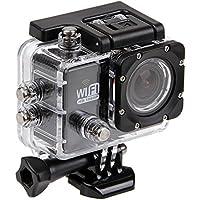 Hazziha Wasserdichte Schutzhülle für Action- / Sport-Kamera SJ 6000,Unterwasser- / Tauch-Hülle, transparent