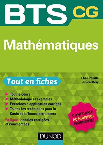 Livre gratuits Mathématiques : BTS CG - Conforme à la réforme pdf ebook