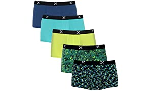 XYXX Men's Micro Modal Trunk(Pack of 5)