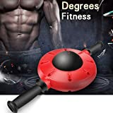 Abdominal Wheel, Muscle Trainer,360 Degrees All-Dimensional Abdominal Muscle Trainer With Non-Slip Rubber Handle For Core Strength Training