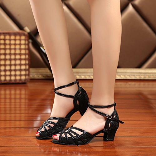Minitoo , Salle de bal femme Black-5cm Heel