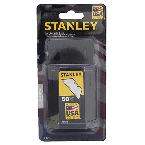 Preisvergleich Produktbild Stanley 11-921L 50-Pack 1992 Heavy Duty Utility Blades with Dispenser