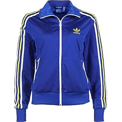 adidas Trainingsjacke Firebird Ml - Chaqueta técnica, color azul, talla 34