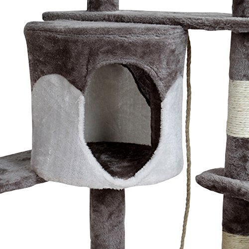 Leopet Kletterbaum 204 cm hoch /Sisalwicklung in verschiedenen Farben - 6