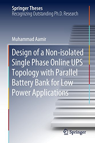 Design of a Non-isolated Single Phase Online UPS Topology with Parallel Battery Bank for Low Power Applications (Springer Theses) (English Edition) Single-supply-batterie