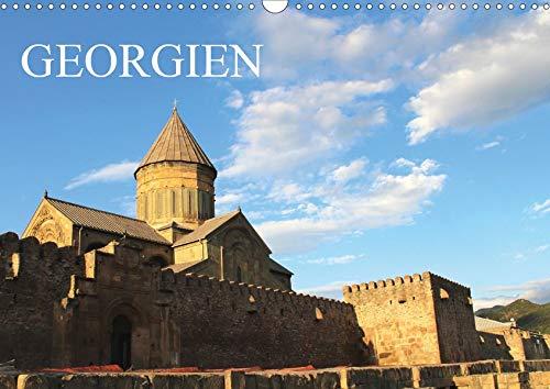 Georgien (Wandkalender 2020 DIN A3 quer): Ein Monatskalender mit farbenprächtigen Fotos aus Georgien (Querformat, 14 Seiten) (Monatskalender, 14 Seiten ) (CALVENDO Orte)