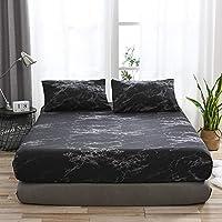 غطاء مرتبة واق لمرتبة مرتبة من مينستياي لا يسبب الحساسية ومسامية غطاء فراش السرير Twin MHLMAINSTAYAEH24815B-TCTSA