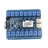 HI-Link- WiFi-Steuerschalter 16-Kanal-Netzwerk-Relais-Fernbedienung P2P WiFi-Modul