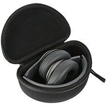 Khanka EVA Borsa Custodia da viaggio caso per Beats by Dr. Dre Studio 2.0 Cuffie Over-Ear / Solo2 Cuffie On-Ear - Negro