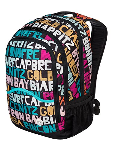 Roxy Damen Daypack Charger J Backpack Typo Is Everywhere Combo Black