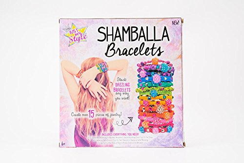 Just My Style Just My Style Shamballa Bracelets Art and Craft, Multi Color