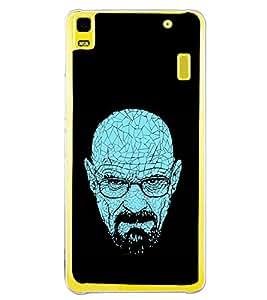 Thinking Man 2D Hard Polycarbonate Designer Back Case Cover for Lenovo K3 Note :: Lenovo A7000 Turbo