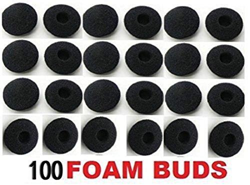 Da.Wa 100 PCS Headphone Earpads/Replacement Earpads for Headphones,Kopfhörer-Weichschaum Schwamm Ohrpolster Bezüge,13-18mm