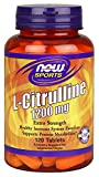 L-citrulina, 1200 mg, 120 tabletas - Now Foods