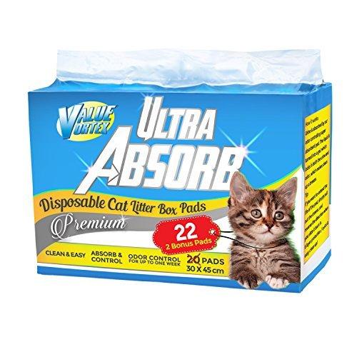 Ultra Absorb Cat Pad Refills Für Breeze Litter Box-System - 22 Pad Bonus Pack -