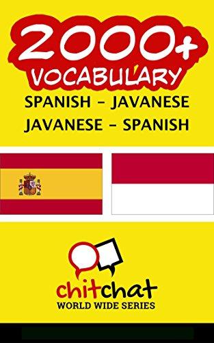 2000+ Español - Javanés Javanés - Español vocabulario