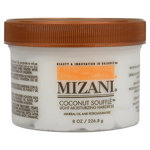 Mizani Coconut Souffle Light Moisturizing Hairdress 8 oz -- Conditions and soften hair by Mizani (English Manual)