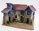 De Sisinno Borgo 3Casas para belén–Dim. H22x 30x 20cm