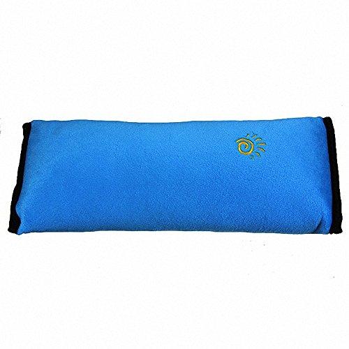Fortag Auto Sicherheits Schulterkissen Sicherheitsgurt Polster Schlafkissen für Kinder (blau)