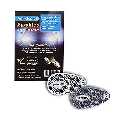 Headlamp Beam Eurolites Deflectors Head Light Convertors Adaptor Euro Driving