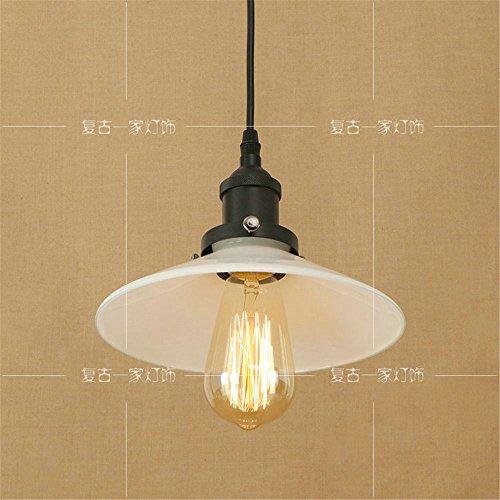 Landschaft Einfache Glas Lampenschirm Gang Hängeleuchte Kronleuchter, 220mm*125mm -