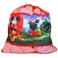 Downtown Minnie Mouse - Bolsa de malla con cordel
