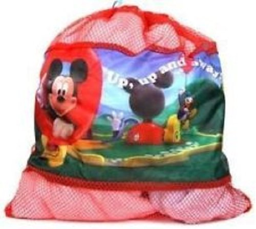 Downtown Minnie Mouse - Bolsa de malla con cordel