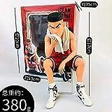 QingShunBeiJing Dunk Handmodell Ace Anime Dekoration Kinderspielzeug Puppe Souvenir/Sammlung/Basteln...