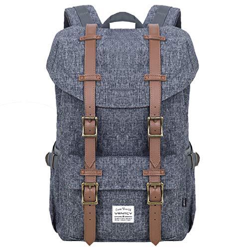 VENTCY Studenten Rucksack Casual Uni Rucksack Herren Backpack 15,6 Zoll Laptop Rucksack Jungen Daypack Wasserabweisend Unisex für Outdoor Reisen