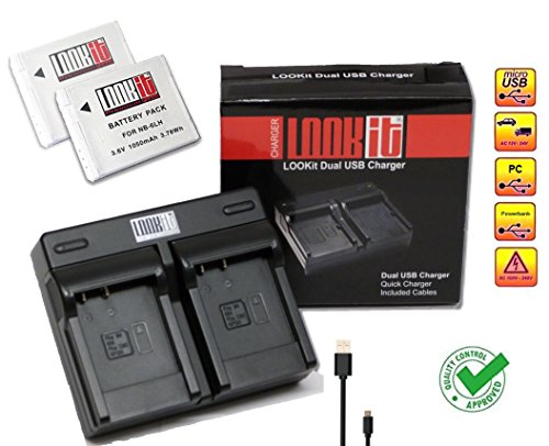 lookit-set-y-compris-duall-chargeur-2x-lookit-nb-6lh-pour-canon-sx710-canon-sx530-canon-sx610-canon-