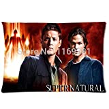 Home Sofa Supernatural Dean Sam Winchester Zippered Rectangle Pillow Case Standard Size20''x30''