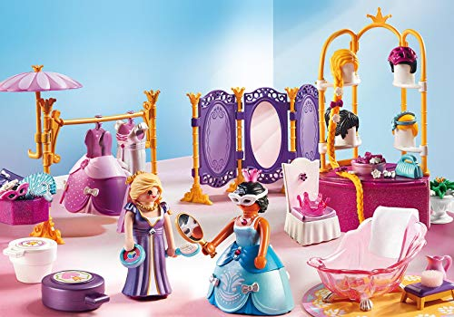 Playmobil - Jeu de Construction - Salon de Beauté Princesses - 6850 - Princesse