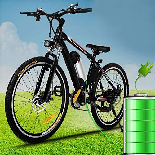 SHIJING Potente Moto eléctrica Bicicletas montaña
