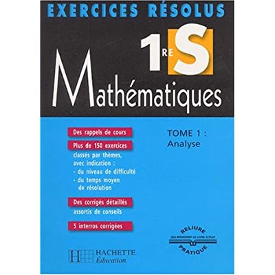 Exercices Resolus Mathematiques 1ere S Tome 1 Pdf Download Free Kurtlennie