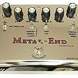 Biyang électrique Guitare analogique pédale d\'effet METAL END PRO Distortion Véritable Bipasse