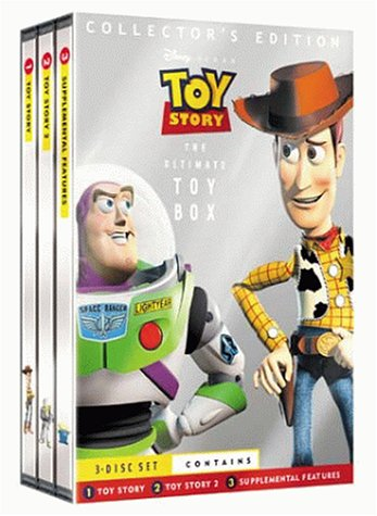 Toy Story/Toy Story 2 [Collector's Edition] [3 DVDs] [UK Import] (Und 2 Toy Story 3 Dvd)