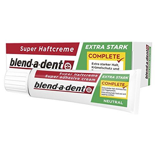 Blend-a-dent Super-Haftcreme Complete extra stark -neutral, 12er Pack (12 x 47 g)