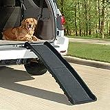 Pet Ramps for Cars, 62 x 16 x 4in Car Dog Ramp Folding Pet Ramp ABS Non Slip Pet Ramp Ladder Black
