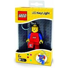 LEGO - Llavero con figura LEGO y linterna