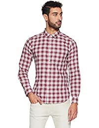 Amazon Brand - Symbol Men's Checkered Regular Fit Casual Shirts