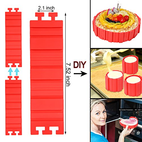 Lanlan alle Arten von Kuchen Backform Werkzeuge Home DIY Backen Tools Magic Backen Schlangen Lebensmittelechtes Silikon Kuchen Formen (Thomas The Tank Halloween)