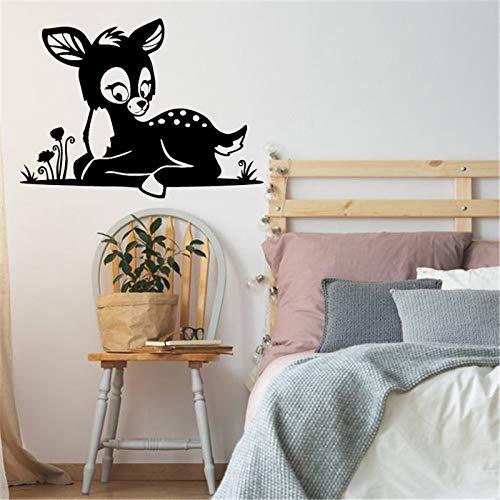 Kunst Salon Aufkleber Schönheitssalon Wandaufkleber Mädchen Frauen Aufkleber Abnehmbare Nette Dekor Raumdekoration Poster ~ 1 42 * 31 cm